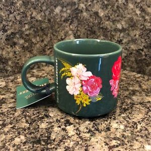 Starbucks + ban.do NWT Floral Coffee Mug NEW